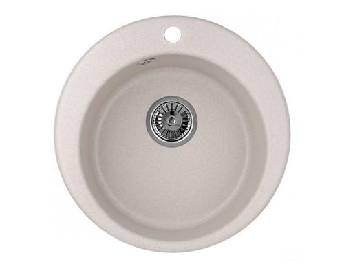 GR-4801 Granula Мойка кухонная врезная, материал гранит стандарт, цвет пирит.