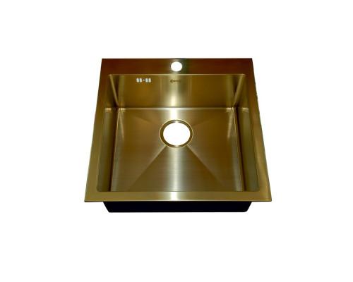 Мойка для кухни Zorg SZR-51 BRONZE цвет бронза