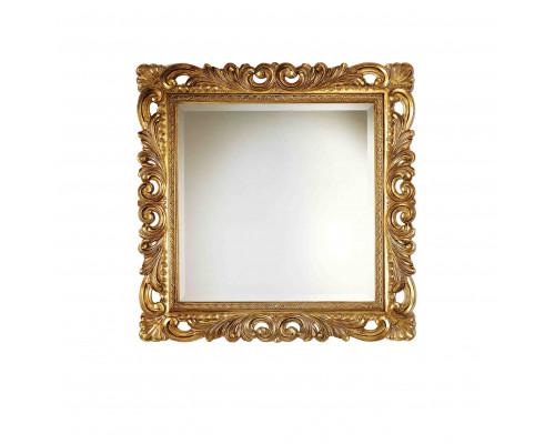 PL109-B Caprigo Зеркало в обрамлении из пенополиуретана, размер 100x100 см.,цвет бронза.