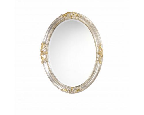 PL030-K Caprigo Зеркало в обрамлении из пенополиуретана, размер 82x62 см.,цвет серебро/золото.