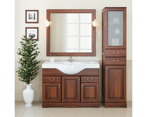 Deluxe Габриэлла 105 Комплект мебели орех, бронза