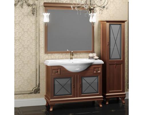 Комплект мебели для ванной комнаты Opadiris Борджи 105 цвет светлый орех