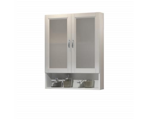 Шкаф подвесной двустворчатый Opadiris Клио 63 цвет белый матовый
