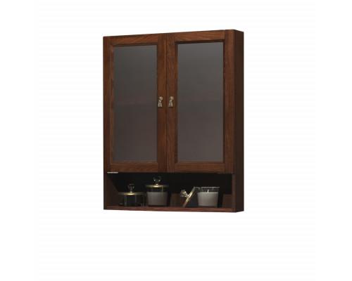 Шкаф подвесной двустворчатый Opadiris Клио 63 цвет орех антикварный