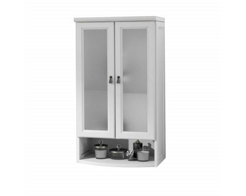 Шкаф подвесной двустворчатый Opadiris Клио 60 цвет белый матовый