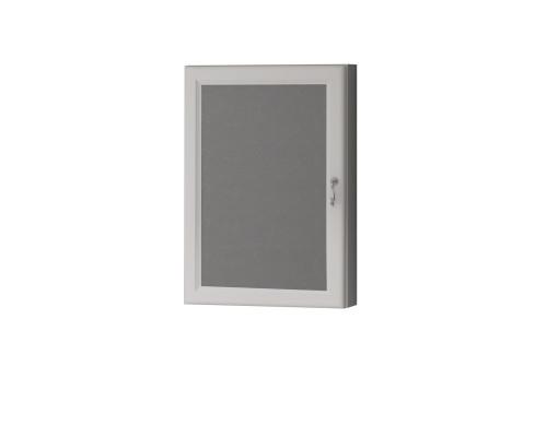 Зеркало-Шкаф угловой Opadiris Клио L 45 цвет белый матовый