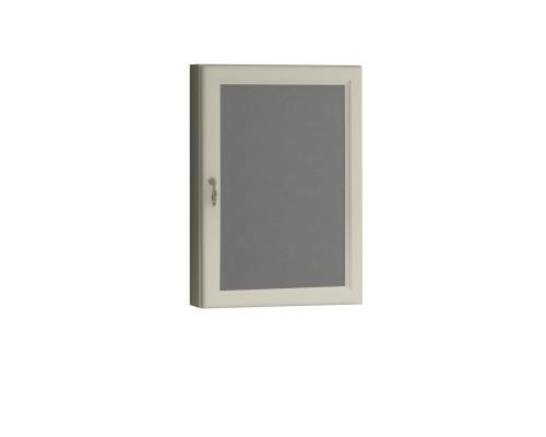 Зеркало-Шкаф угловой Opadiris Клио R 45 цвет слоновая кость