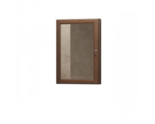 Зеркало-Шкаф угловой Opadiris Клио L 45 цвет орех антикварный