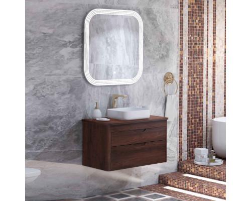 Комплект мебели для ванной комнаты Opadiris Престиж 90 орех антикварный