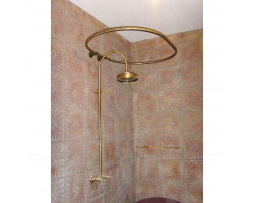 KZ200 Карниз для ванны по вашему эскизу в бронзе.
