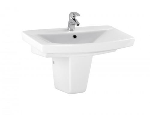 Cersanit Carina 70 Раковина для ванной комнаты, цвет белый