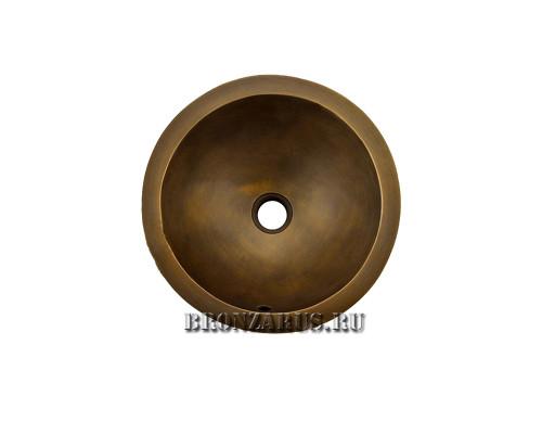 BS-Z80413 Koozee Раковина врезная, из бронзы, цвет бронза.