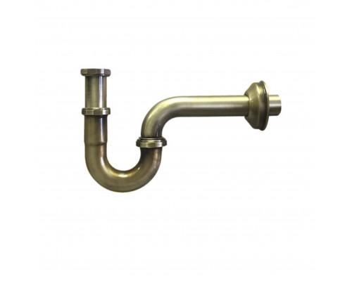 MRP3275-AB-NW McAlpine Сифон проточный для раковины, гидрозатвор, мини, бронза.