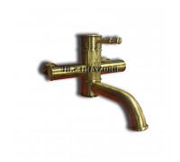 51022-1Br KAISER Milos Смеситель для ванны и душа в бронзе.