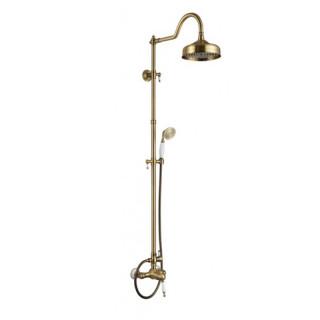 Fa-2002-2004-Bronze Aksy Bagno Душевая система, бронза.