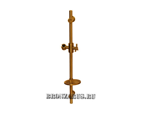 GZ0020 Ganzer Душевая стойка с мыльницей, материал (латунь) бронза.
