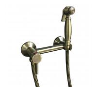 GZ80020 Ganzer Kit Гигиенический набор со смесителем внешнего монтажа, бронза.