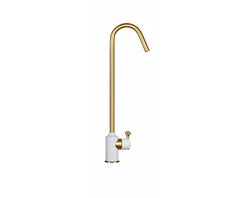 KG2614 ECRU-BR Kuppersberg AMENO Кран для чистой питьевой воды, слоновая кость и бронза