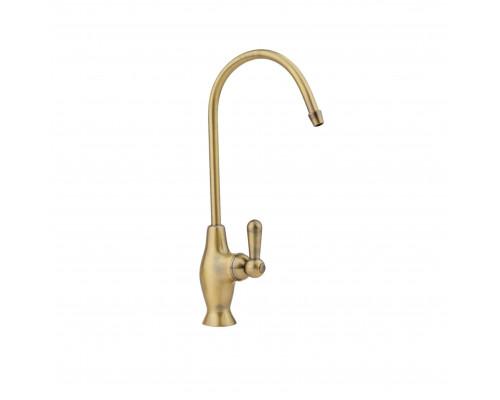 LC2101 Bronze Classic Longran Кран для чистой питьевой воды, цвет бронза.