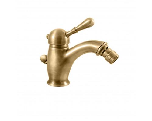 L045.5SM RavSlezak Labe Смеситель однорычажный для биде, с донным клапаном, цвет бронза.