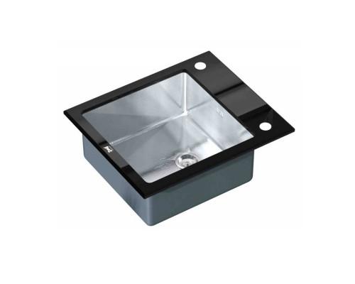 Мойка для кухни GL-6051-BLACK цвет черный