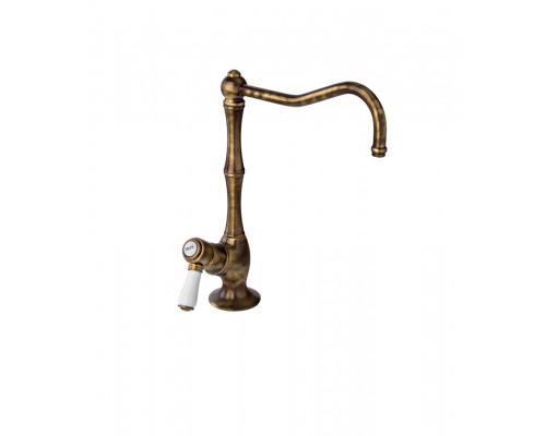1435 DB 11 Nicolazzi Traditional Кран для питьевой воды, тёмная бронза