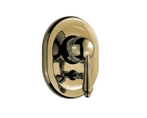 Встраиваемый смеситель для душа на 2 потребителя Nicolazzi El Capitan 3460BZ75 бронза