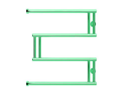 Полотенцесушитель водяной Сунержа High-Tech model M 60х60 зеленый
