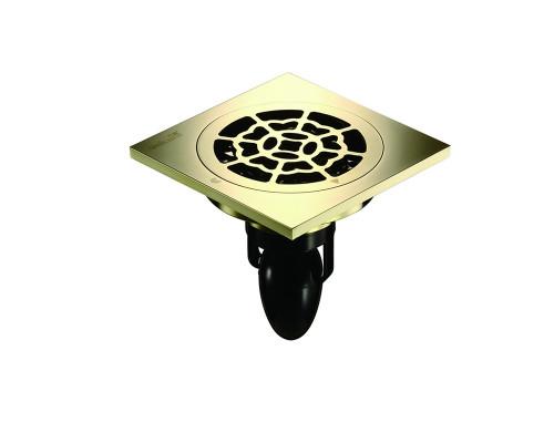 """C08Q5-Z Magdrain Трап с магнитным затвором, """"сухой"""", цвет золото циркония."""