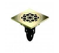 """C09Q5-Z Magdrain Трап с магнитным затвором, """"сухой"""", цвет золото циркония."""