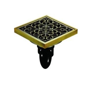 """F06Q5-H Magdrain Трап с магнитным затвором, """"сухой"""", цвет полированная латунь."""