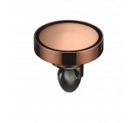 """W01Q5-R Magdrain Трап с магнитным затвором, """"сухой"""", цвет полированная медь."""