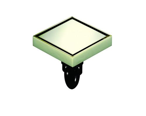 "W02Q5-Z Magdrain Трап с магнитным затвором, ""сухой"", цвет золото циркония."