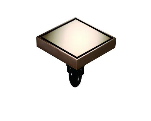 """W03Q5-R Magdrain Трап с магнитным затвором, """"сухой"""", цвет полированная медь."""