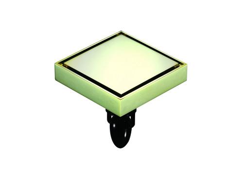 "W03Q5-Z Magdrain Трап с магнитным затвором, ""сухой"", цвет золото циркония."