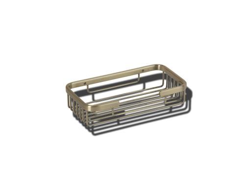 VR.GFT-9040.BR Veragio BASKET Полка-решетка прямоугольная, бронза