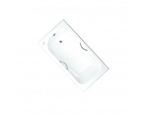 241000 Maroni Colombo Ванна чугунная 150x75 см., с ножками и ручками, белая.