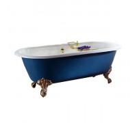 Dual Recor Ванна отдельностоящая, размер 170x78 см, чугун, лапы орла, белая.