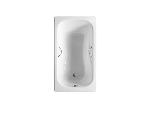 220470000 Roca Princess-N Ванна стальная, прямоугольная, размер 150x75 см., белая.