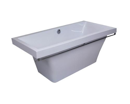 Ванна из литьевого мрамора Astra-Form белая Капри