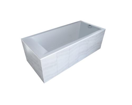 Ванна из литьевого мрамора Astra-Form Нейт 160х70 белая