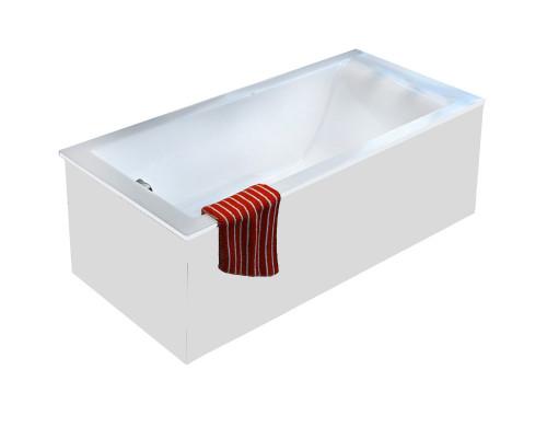 Ванна из литьевого мрамора Astra-Form Нейт 180х80 белая
