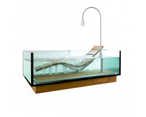 Ванна отдельностоящая Hoesch Water Lounge 200x120x72 см