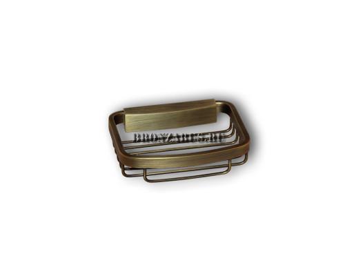 BCF-1M Classic Retro Решетка для мыла или шампуня в бронзе.