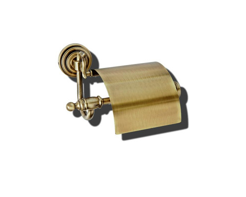 10601 Boheme Medici Держатель для туалетной бумаги с крышкой, в бронзе.