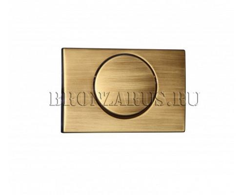 115.101.00.1 Geberit Delta 15 Смывная клавиша, цвет бронза