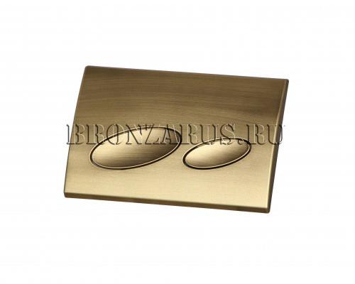 115.228.21.1.BZ Geberit Kappa 20 Смывная клавиша Kappa 20, в матовой бронзе