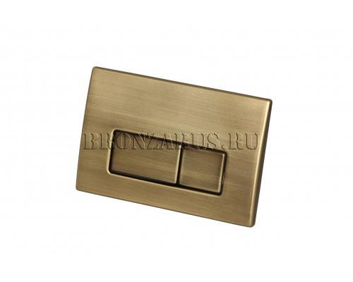 115.258.00.1 Geberit Kappa 50 Клавиша смыва в матовой бронзе
