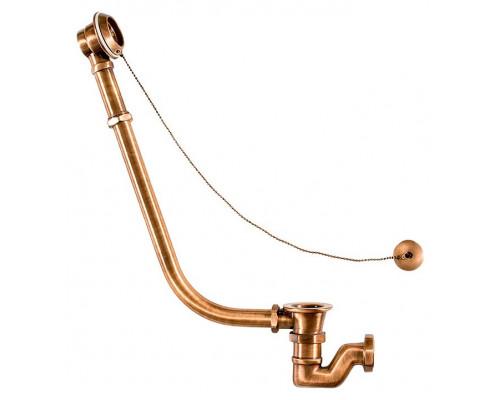 1200 BR Астра-Форм Vicario Слив-перелив для свободностоящих ванн, бронза