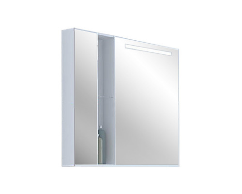 1A181102MO010 Акватон МАРКО 80 Зеркальный шкаф
